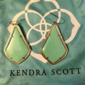 Kendra Scott - Alex Drop Earrings in Mint